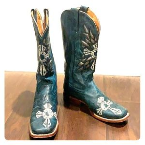 Turquoise Roper Boots